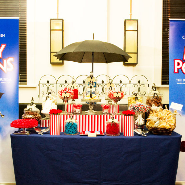 Testimonial for the Mary Poppins Show Opening Night Lolly Buffet