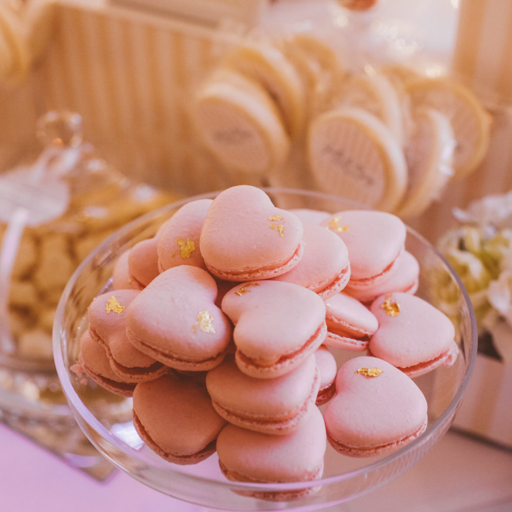 Adelaide lolly buffet Fabulous candy buffet for Jo's wedding, including heart-shaped macarons