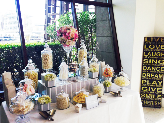 L'Aqua Candy Buffet