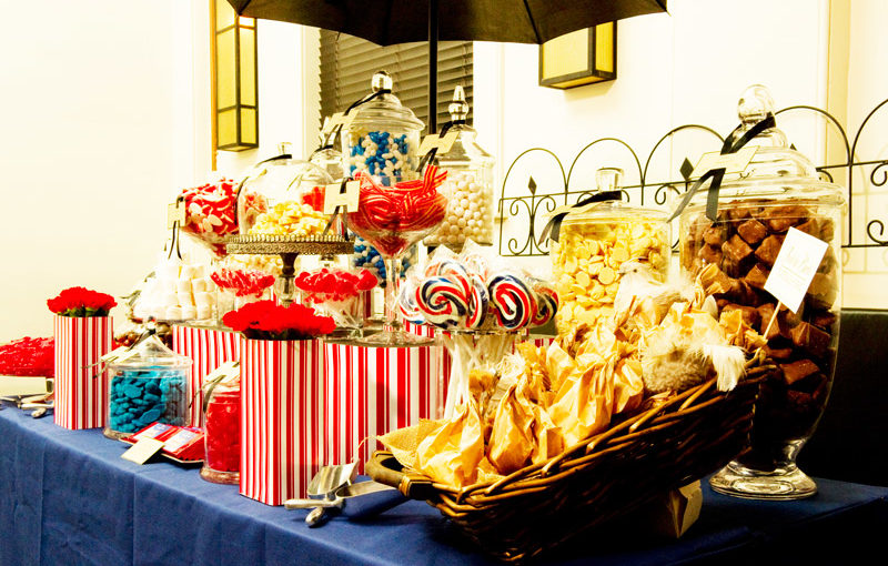 Marry Poppins Show Opening Lolly Buffet