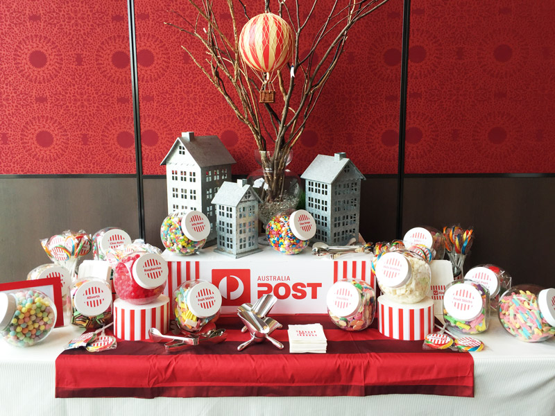 Australia Post Candy Buffet