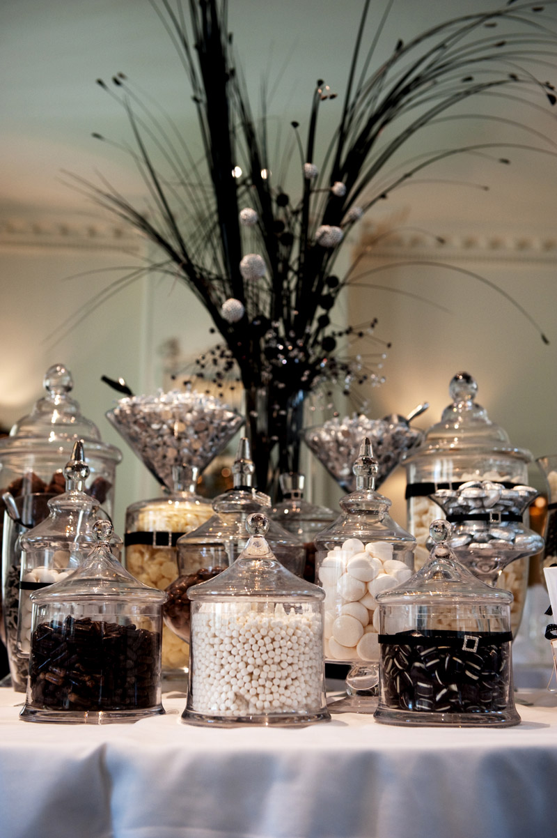 The Original Black and White Lolly Buffet - The Candy Buffet Company