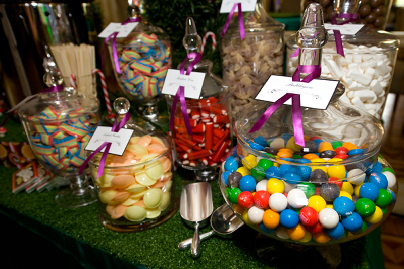 Willy Wonka Corporate Christmas Party Lolly Buffet - The Candy Buffet Company