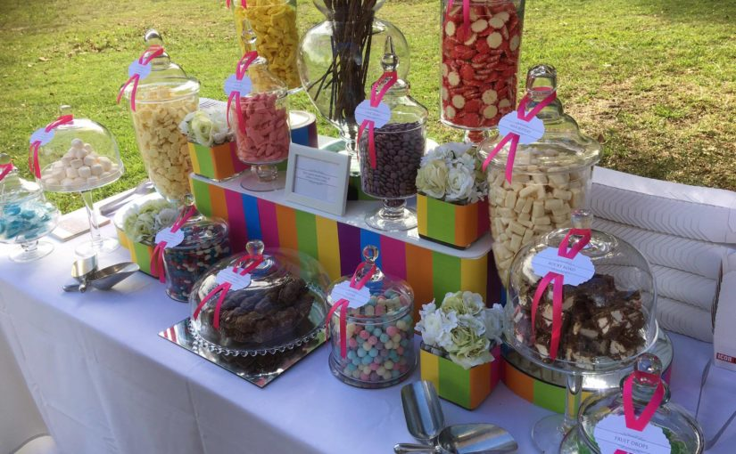 Sydney lolly buffet corporate candy bar by The Candy Buffet Company