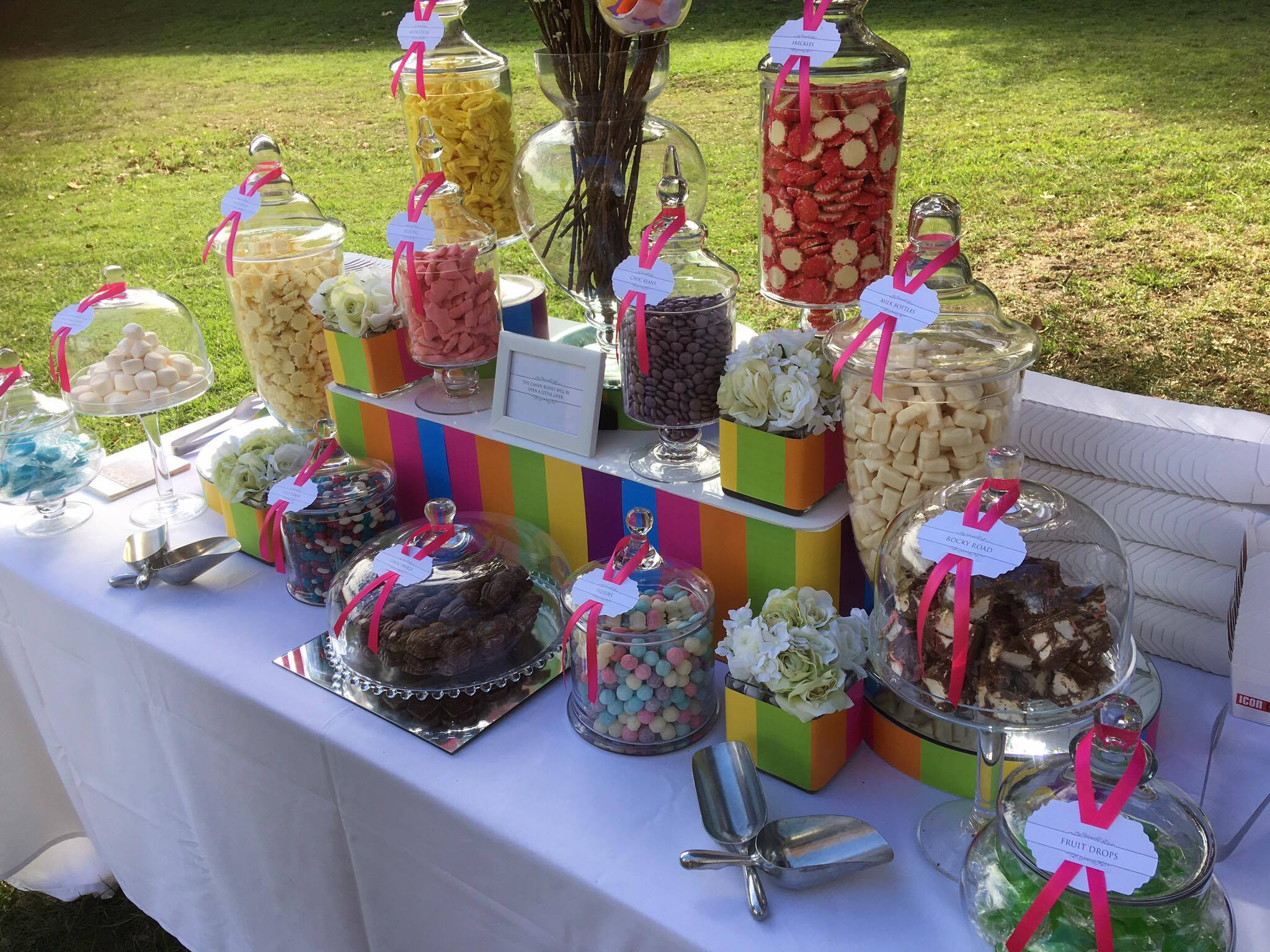 40th Birthday Ideas - The Candy Buffet Company