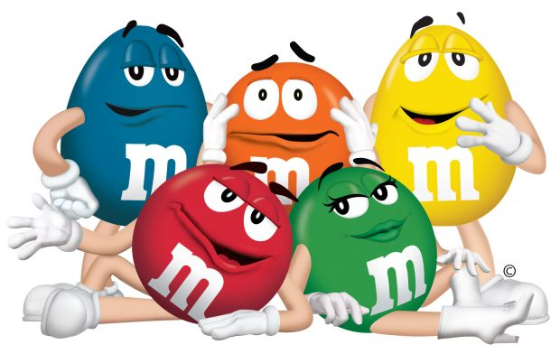 M&M Ad blog post by The Candy Buffet Company