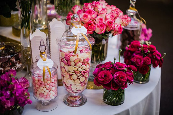 Donato Reception Centre Wedding Lolly Buffet by The Candy Buffet Company