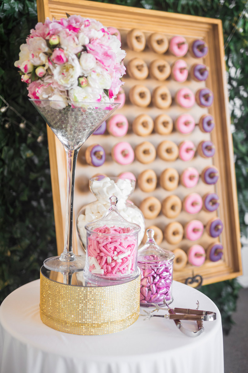 candy buffet donut wall  the candy buffet company - doughnut wall