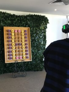Donut Wall Photo Shoot at The Candy Buffet Company studio