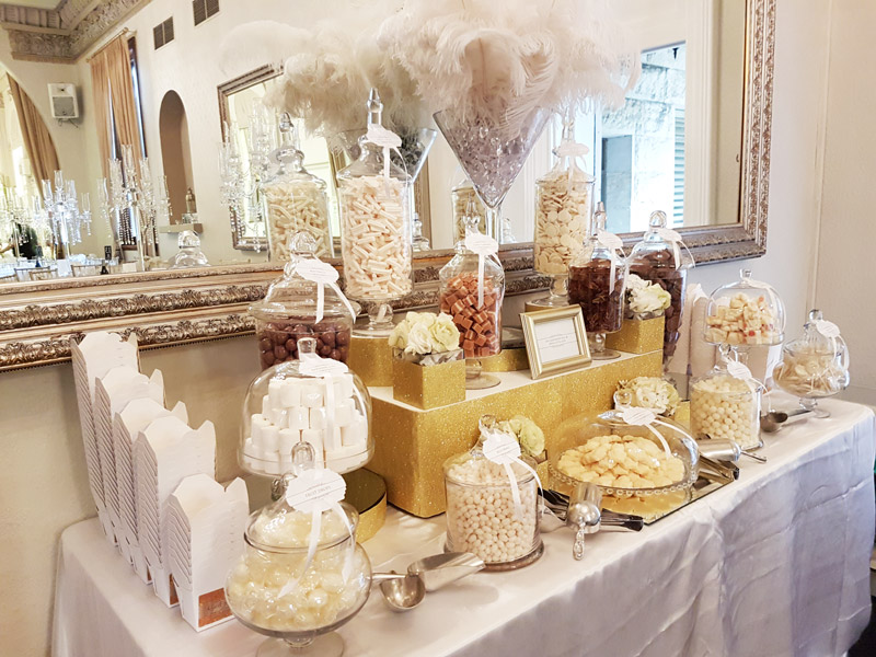 curzon hall gold white buffet candy buffet the candy buffet company rh candybuffet com au gold candy buffet bags gold candy buffet bags