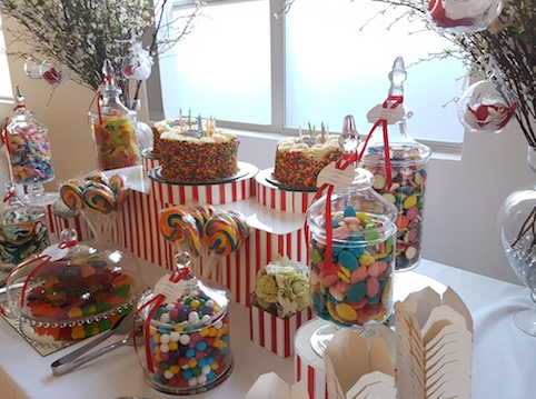 Alessandra, Annalise & Elijah's Birthday Lolly Bar