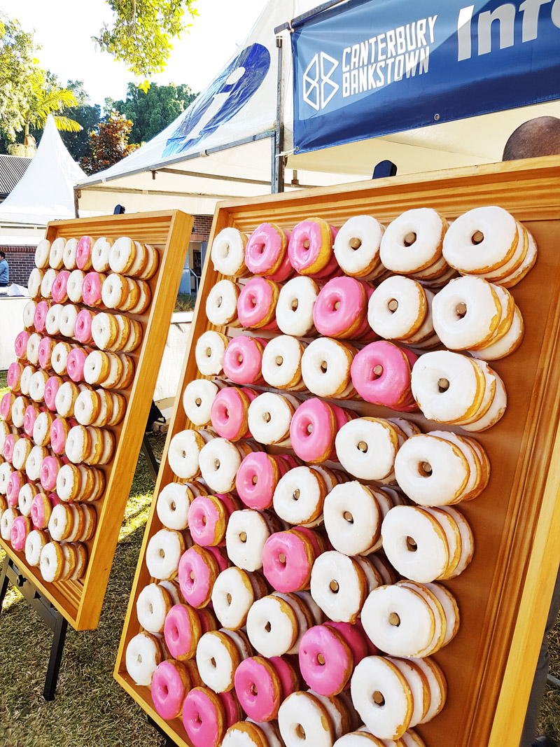 City of Canterbury Bankstown Donut Wall